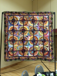 New York Beauty quilt for Tabor Home