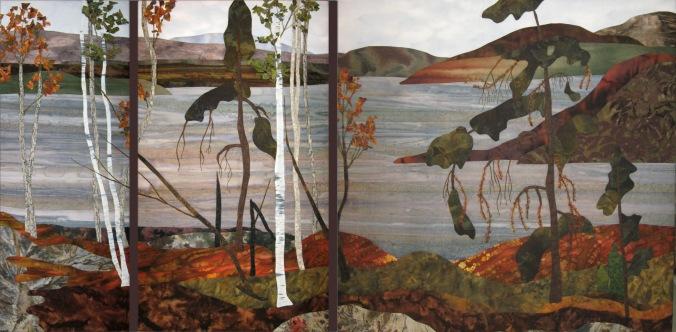 Tenacity Bay & Windy Point 3 panels s