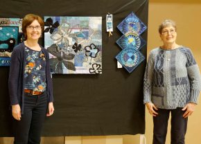 3rd prize (tie) Barb Westfall & Carol Burton