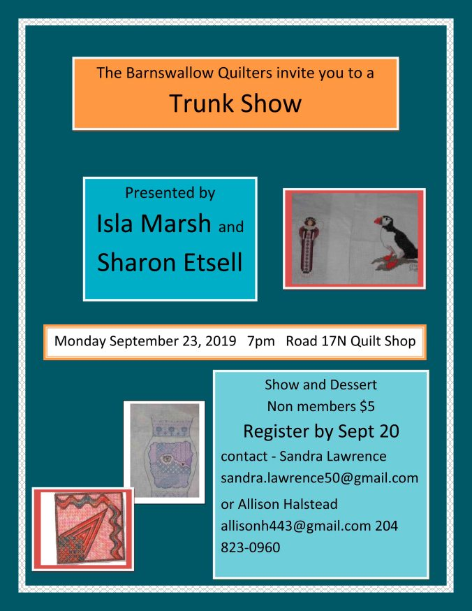 2019 Trunk Show Poster